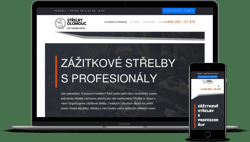 Střelby Olomouc - zážitkové střelby s profesionály z Olomouce